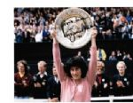 Virginia Wade OBE Wimbledon Single Champion in 1977